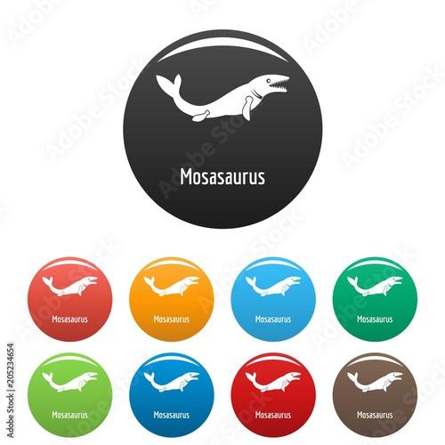 Photo  Mosasaurus icon