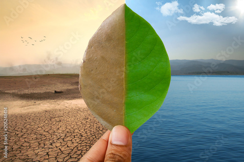 Foto  Global warming and Climate Change
