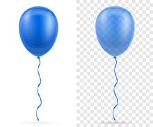 Celebratory Blue Transparent B...