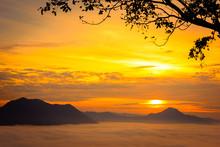 Sunrise At Phu Thok (Thailand)