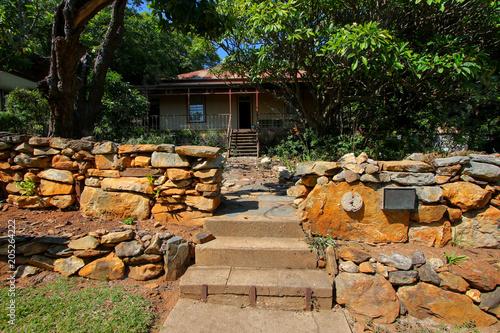 Stopforth House in Barberton, Mpumalanga province of South Africa - Gold rush ci Canvas Print