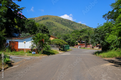 Residential area of Barberton in the Mpumalanga province of South Africa - Gold Wallpaper Mural