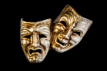 Theatrical Mask Smile And Sadn...