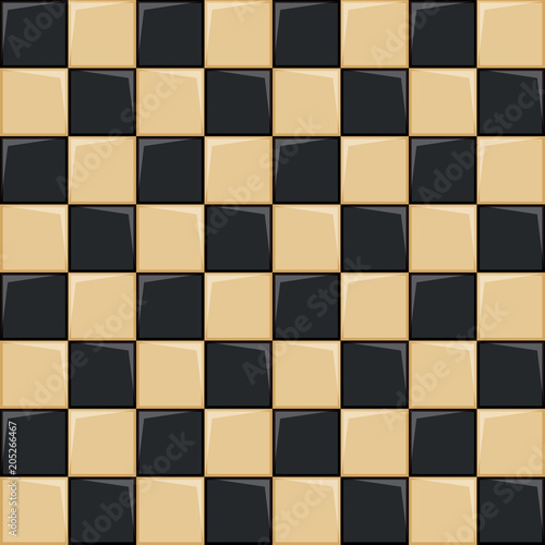 Fototapeta chessboard background, vector illustration