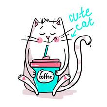 Cute Vector Cat