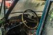 lenkrad von alten auto