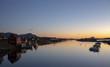 After sunset Salhus,Bronnoysund in Northern Norway