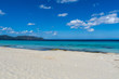 Mallorca, Paradise on holiday island with white sand beach and blue sea