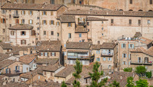 Panoramic Sight In Urbino, City And World Heritage Site In The Marche Region Of Italy.