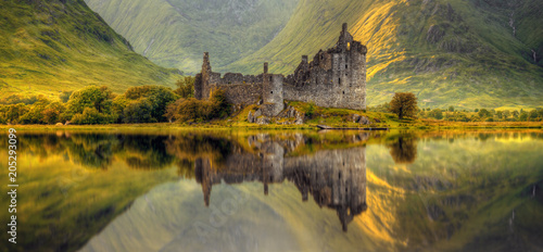 Canvas Prints Historical buildings Kilchurn Castle
