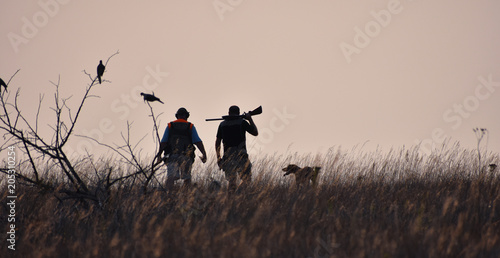 Photo sur Aluminium Chasse Midwest Kansas Hunt
