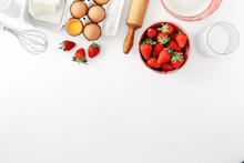 Raw Ingredients Cooking Strawb...
