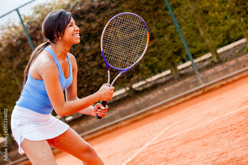 Fotografie, Obraz  Woman playing tennis