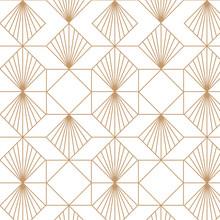 Art Deco Retro Seamless Pattern. Vector Art.
