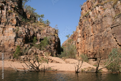 Foto op Canvas Zalm nitmiluk national park (katherine gorge) in northern australia
