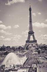 The Eiffel Tower : a Famous Iron Sculpture, Symbol of Paris