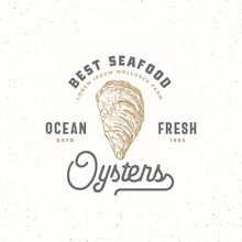 Ocean Fresh Oysters Abstract V...