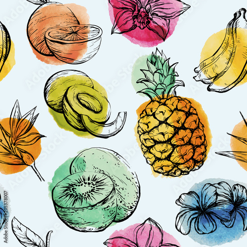 bezszwowy-wzor-z-tropikalnymi-owocami