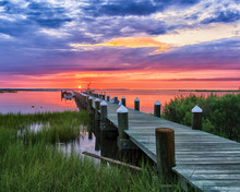 Severn Virginia State Dock Sunrise