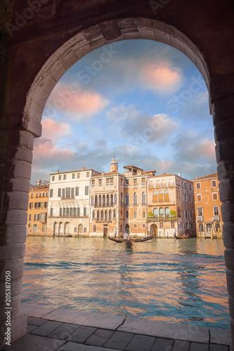 In de dag Centraal Europa Venise au fil de l'eau