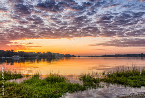 Ware River Gloucester Virginia Sunrise Slika na platnu