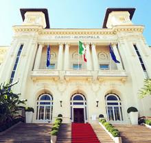 Casino Municipale Sanremo Beautiful Building
