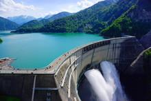 Kurobe Dam, Kurobe Alpine, Japan