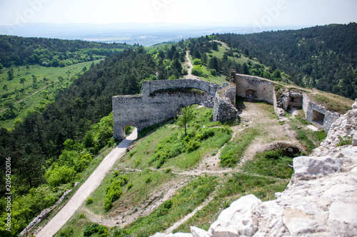 Foto op Aluminium Rudnes Castle ruins