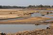 The South Luanga River landscape in Zambia