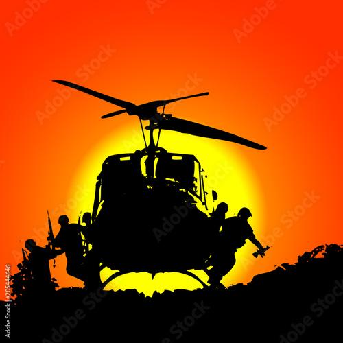 Despliegue de tropas плакат