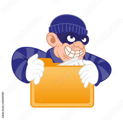 Fotografie, Obraz  Personal date thief