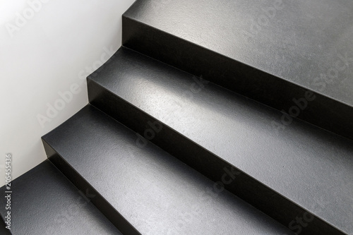 Photo Stands Stairs Abstract modern stairs in black and white style