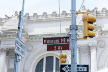 New York Yellow Traffic Light