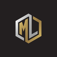 Initial Letter ML, Looping Lin...