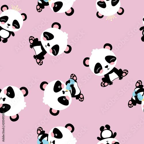 kreskowka-panda-wzor