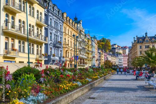 Fotografie, Tablou Architecture of Karlovy Vary (Karlsbad), Czech Republic