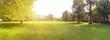 canvas print picture - Baugrundstück Bauland für Neubau Projekt auf grüner Wiese, Grundstück für Baugebiet