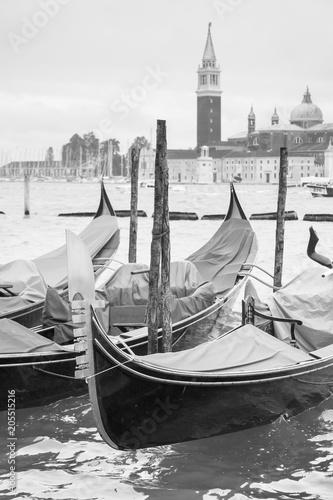 Keuken foto achterwand Gondolas Gondolas in Venice