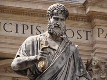 Statue De Saint Pierre à Rome