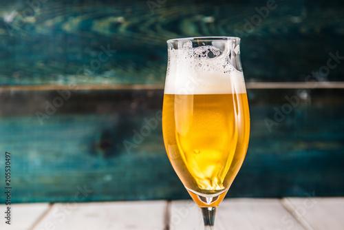Fotobehang Bier / Cider beer