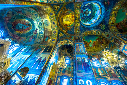 Fotografering  Church of the Savior on Spilled Blood