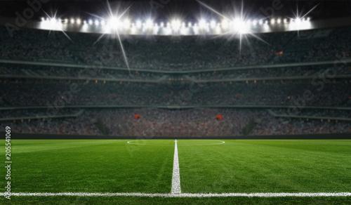 Obraz fussball spielfeld - fototapety do salonu