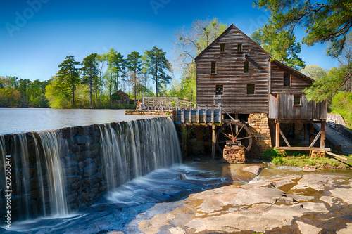 Historic Yates Water Mill Wallpaper Mural