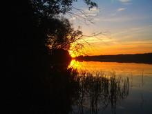 Beautiful Orange Sunset Shines...
