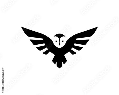 Canvas Prints Owls cartoon owl 1