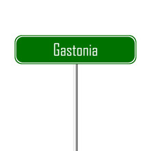 Gastonia Town Sign - Place-nam...