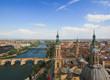 Zaragoza rooftop view