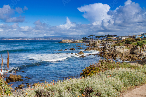 Photo Monterey Bay on a Blustery Spring Day