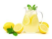 Jug Of Summer Lemonade With Le...