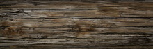 Old Dark Rough Wood Floor Or S...